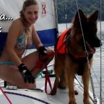Wspomnienia z Mazur i Soliny z psem