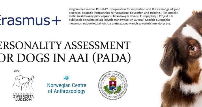 Testy predyspozycji psa PADA